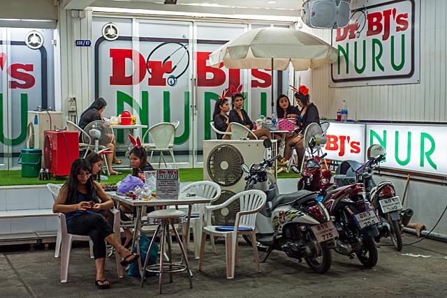 Dr. BJ's Nuru Massage Wood Bar Bangkok
