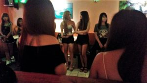 Girls in Thermae Bar Bangkok
