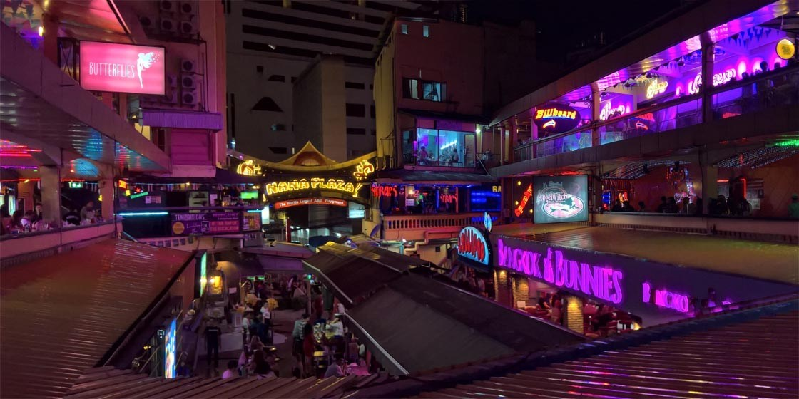 Nana Plaza in Bangkok