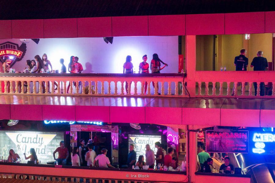Nana Plaza in Bangkok Thailand