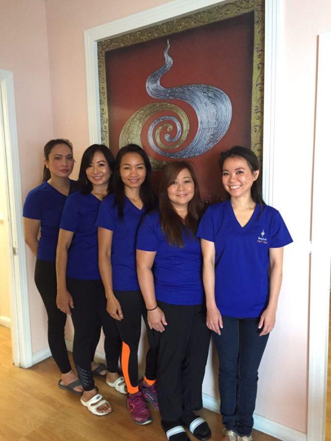 Bangkok Massage Girls from Nana Plaza