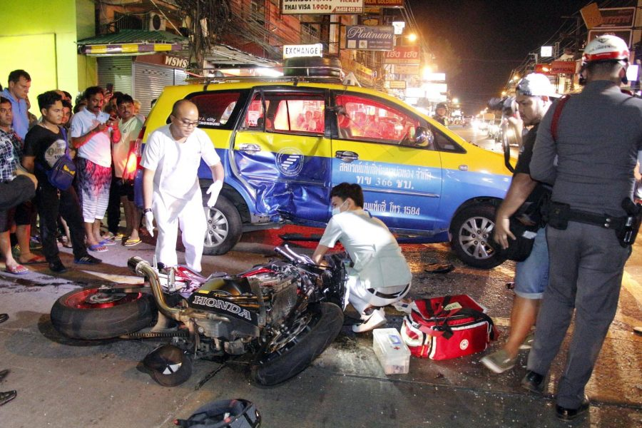 Drunk Driving is a Problem in Bangkok