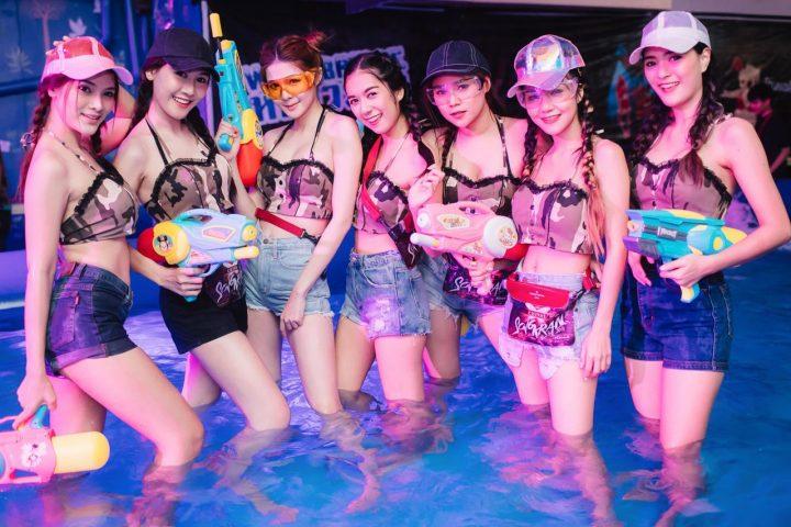 Songkarn Festival in Bangkok