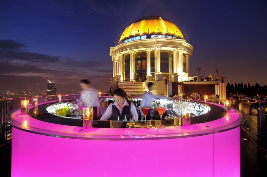 Lebua Bar in Bangkok