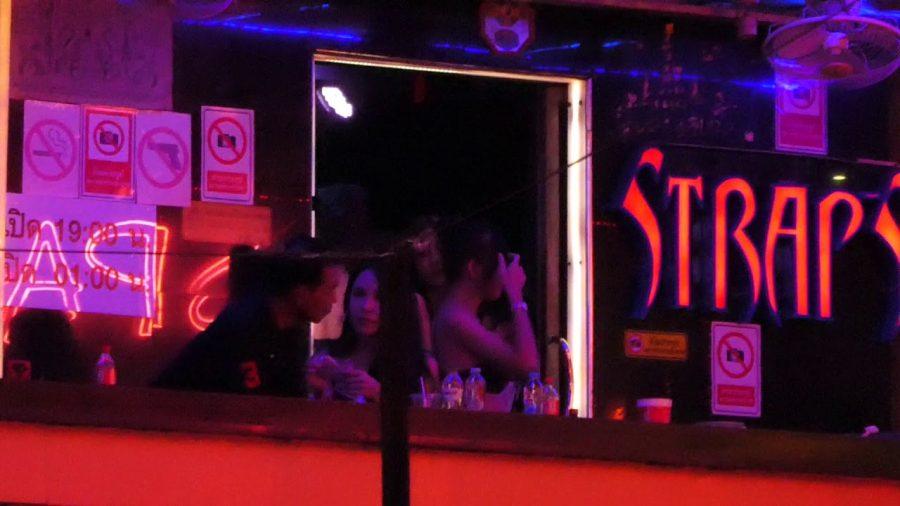 Straps Ladyboy Bangkok GoGo Bar