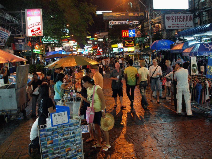 Khao San Road is Bustling 24/7