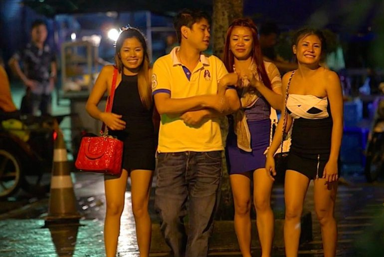 Bangkok Khao San Road Girls