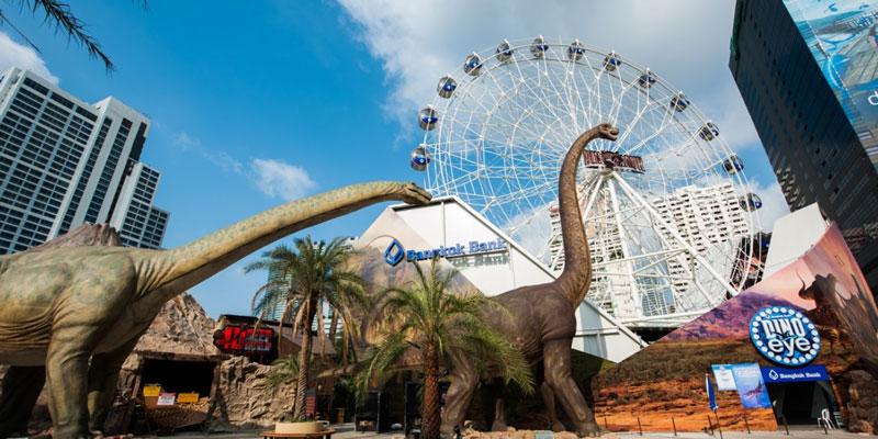 Jurassic Park in Bangkok for Dinosaurs