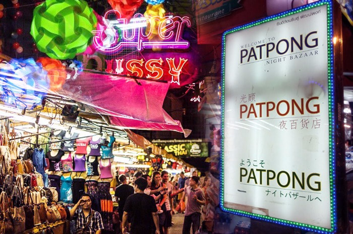 Ping Pong Shows in Patpong