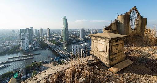 Sathorn Ghost Tower in Bangkok